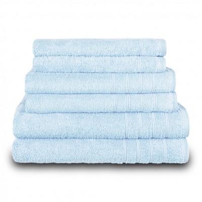 Πετσέτα προσώπου θαλασσί 50x90 cm, Σειρά Comfort, 500gr/m², Πενιέ,  FENNEL 26006