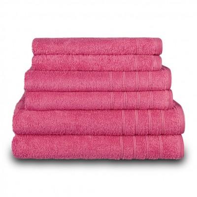 Πετσέτα χεριών φούξια 30x50 cm, Σειρά Comfort, 500gr/m², Πενιέ,  FENNEL 25997