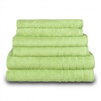 Πετσέτα προσώπου πράσινη 50x90 cm, Σειρά Comfort, 500gr/m², Πενιέ,  FENNEL TWCO-5090-GN