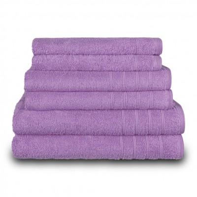 Πετσέτα μπάνιου μωβ 70x140 cm, Σειρά Comfort, 500gr/m², Πενιέ,  FENNEL 26026