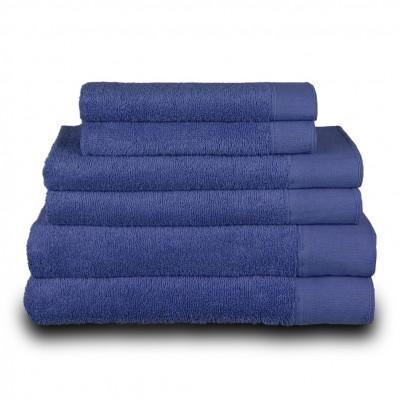 Πετσέτα χεριών μπλε 30x50 cm, Σειρά Premium , 600gr/m², Πενιέ,  FENNEL 26032
