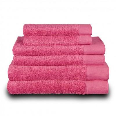 Πετσέτα προσώπου φούξια 50x100 cm, Σειρά Premium , 600gr/m², Πενιέ,  FENNEL 26045