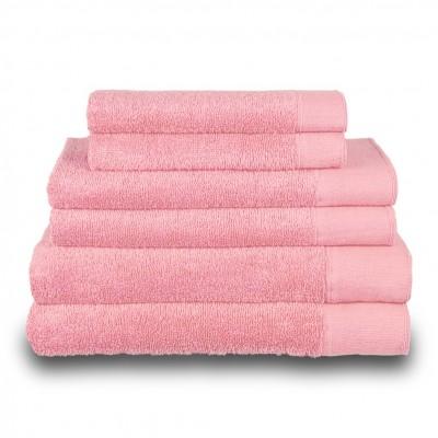 Πετσέτα χεριών ροζ 30x50 cm, Σειρά Premium , 600gr/m², Πενιέ,  FENNEL 26029