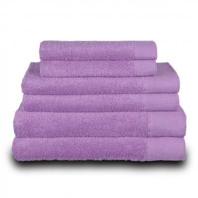 Πετσέτα προσώπου μωβ 50x100 cm, Σειρά Premium , 600gr/m², Πενιέ,  FENNEL 26050
