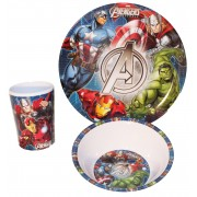 Σετ φαγητού Avengers Marvel 3 τεμαχίων