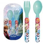 Σετ Φαγητού (Κουτάλι, πιρούνι) Frozen Disney