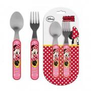 Σετ Φαγητού (Κουτάλι, πιρούνι) Minnie mouse Disney