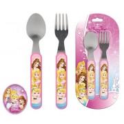Σετ Φαγητού (Κουτάλι, πιρούνι) Princess Disney