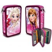 Κασετίνα για το σχολείο Frozen Disney 2 Θηκών