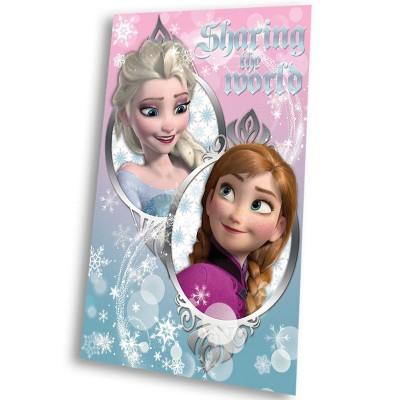 Κουβέρτα φλις παιδική Frozen 16509