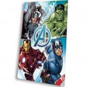 Κουβέρτα φλις παιδική Avengers