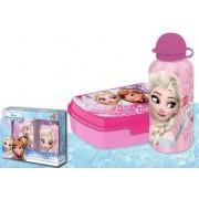 Ταπεράκι φαγητού & Μπουκάλι θερμός Frozen Disney