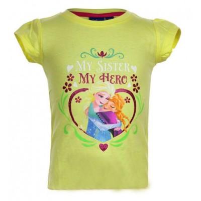 Μπλούζα παιδική κίτρινη Frozen Disney