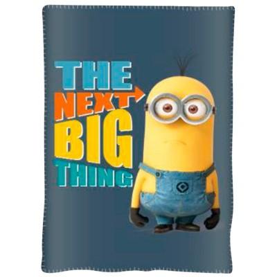 Κουβέρτα φλις παιδική Minions