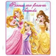 Κουβέρτα φλις παιδική Princesses Disney