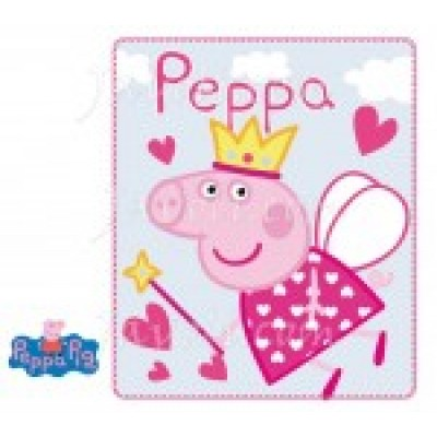 Κουβέρτα φλις παιδική Peppa Disney