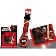 Ψηφιακό ρολόι & Πορτοφόλι Star Wars Disney