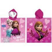 Πόντσο παιδικό θαλάσσης Frozen Disney