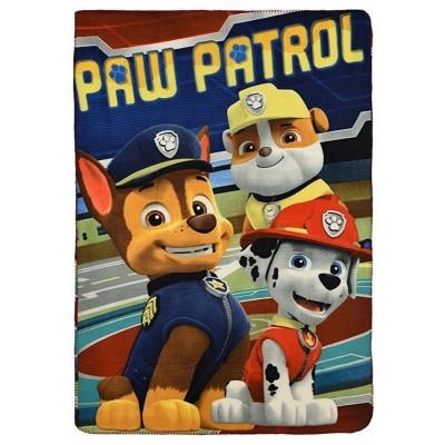 Κουβέρτα fleece παιδική Paw Patrol 4008b
