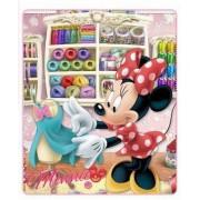 Κουβέρτα παιδική fleece κρεβατιού Minnie Disney 4017b