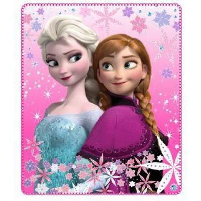 Κουβέρτα φλις παιδική Frozen 4021a