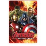 Κουβέρτα φλις παιδική Avengers 4520a