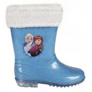Γαλότσες παιδικές με γούνα Frozen Disney 2300002183