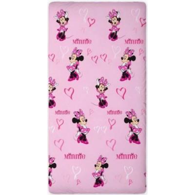 Σεντόνι παιδικό μονό με λάστιχο 0,90x200cm Minnie mouse Disney 540243
