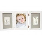 dbdd3d89bb Αναμνηστικό Αποτύπωμα και κορνίζα Baby Print Triple Frame Kit