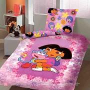 Σετ σεντόνια Μονό Dora the Explorer