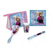 Νεσεσέρ, βούρτσα και θήκη οδοντόβουρτσας Frozen Disney