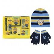 Σετ σκουφάκι με γάντια και κασκόλ Minions 2200001568