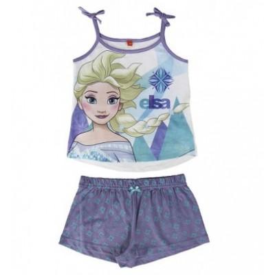 Πυτζάμα παιδική καλοκαιρινή Frozen Disney 2200001976