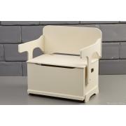 Ξύλινος καναπές θρανίο για βάφτιση TP403BJ