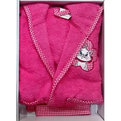 Μπουρνούζι βρεφικό/παιδικό φούξ σε κουτί B261