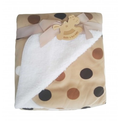 Κουβέρτα βρεφική καροτσιού - αγκαλιάς 4079