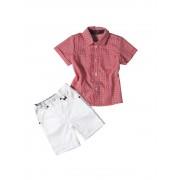 Βρεφικό/παιδικό σετ πουκάμισο και σορτσάκι 8830
