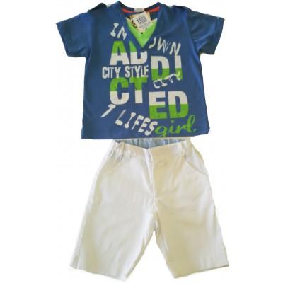 Μπλούζα και βερμούδα παιδική 2650