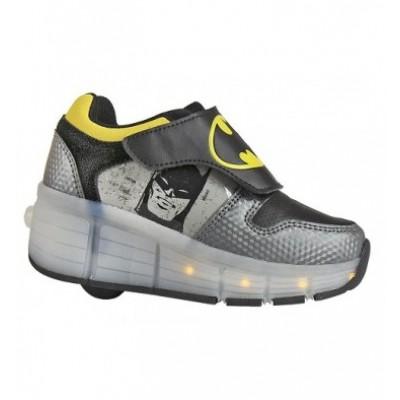 Παπούτσια παιδικά με φωτάκια και ρόδες Batman 2300002681