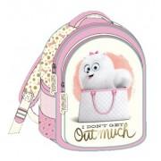 """Τσάντα σχολική """"μπάτε σκύλοι αλέστε""""  31cm 000504308"""