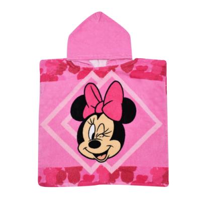 Πόντσο παιδικό θαλάσσης Minnie mouse B09063_2WR