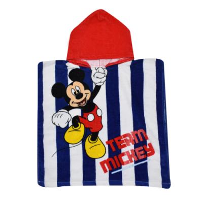 Πόντσο παιδικό θαλάσσης Mickey mouse B09009_2WR