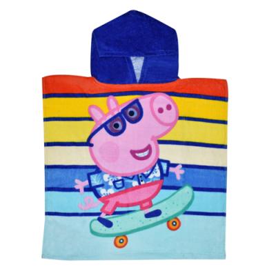 Πόντσο παιδικό θαλάσσης Peppa Pig PP09085_1
