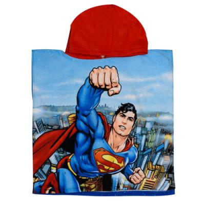 Πόντσο παιδικό θαλάσσης Superman WB62001_1