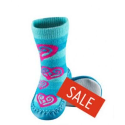 Κάλτσες βρεφικές με δερμάτινη σόλα Soxo 0187_b