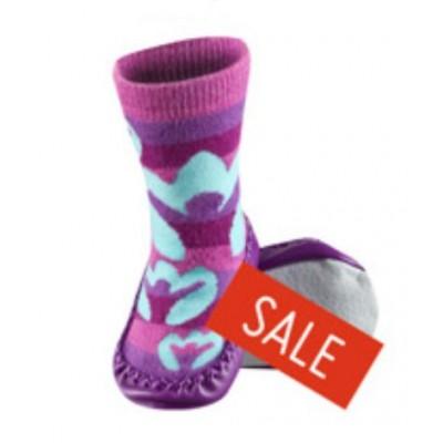 Κάλτσες βρεφικές με δερμάτινη σόλα Soxo 0187_p