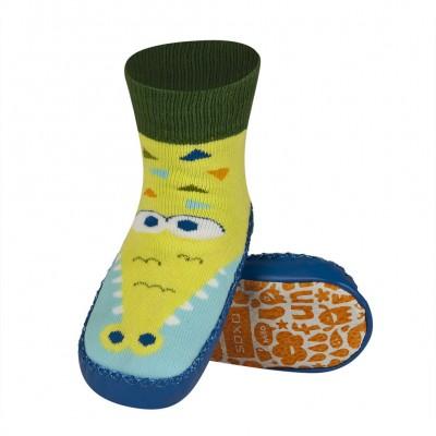 Κάλτσες με δερμάτινη αντιολισθητική σόλα Soxo 53335.2