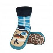 Κάλτσες με δερμάτινη αντιολισθητική σόλα Soxo 57876.3