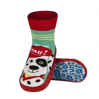 Κάλτσες με δερμάτινη αντιολισθητική σόλα Soxo 57876.1