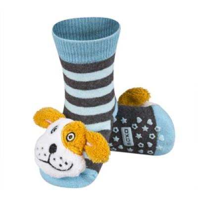 Κάλτσες κροταλίες με ζωάκια που κουδουνίζουν Soxo 58859